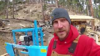 (part 1) Woodworking: Making Your Own Lumber - Ez Boardwalk Sawmill Mega Series And Current Updates