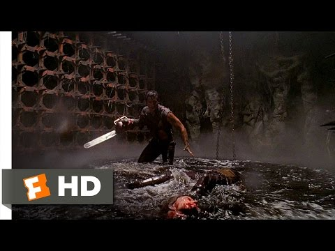 Army of Darkness (1/10) Movie CLIP - A Witch in the Pit (1992) HD
