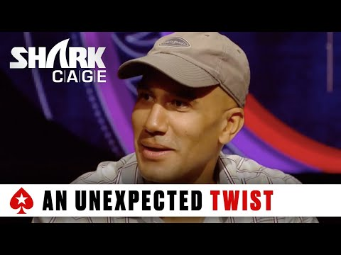 Shark Cage: Brave bluff by Bill Perkins into Ike Haxton!   PokerStars