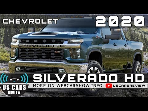 2020 CHEVROLET SILVERADO HD Review Release Date Specs Prices