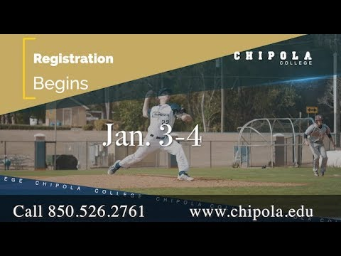 Chipola College Spring 2018-19 Registration