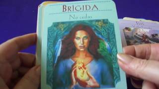 Cartas Oráculo de Las Diosas - Review Goddess Guidance Oracle Cards