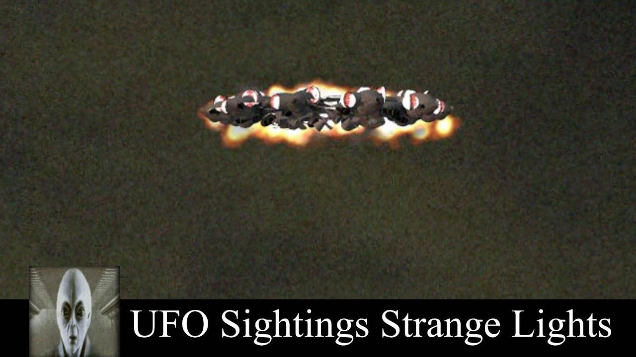 UFO Sightings Strage Lights October 3rd 2018