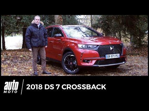 DS 7 Crossback 2018 - essai vidéo : Bienvenue à bord