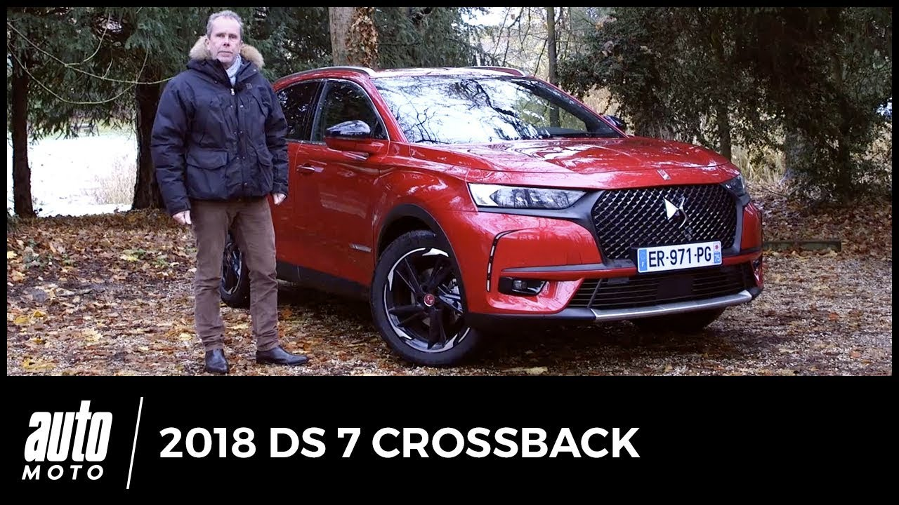 ds 7 crossback 2018 essai vid o bienvenue bord youtube. Black Bedroom Furniture Sets. Home Design Ideas