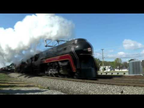 N&W 611 - The Virginian Excursion 4/9/16