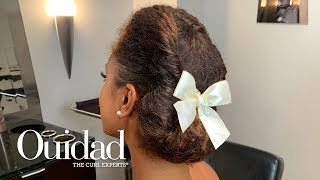 Get the Look: Rolled Chignon with Bow