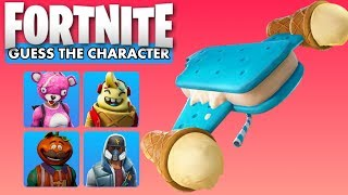 Guess The Character by Glider in Fortnite Ultimate Challenge | Fornite Quiz