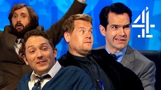 James Corden & Jon Richardson TRY TO CHEAT?! | 8 Out of 10 Cats Does Countdown | Best Guests Pt 3