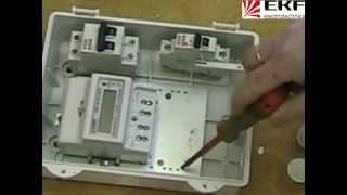 установка счётчика электроэнергии(, 2012-02-27T11:59:47.000Z)