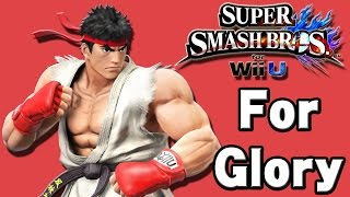 Super Smash Bros. For Wii U (Online   For Glory: 1 On 1   Ryu)