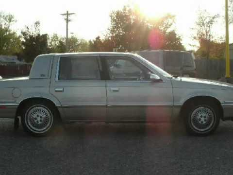1993 chrysler new yorker salon 4dr sedan spring lake park for 1993 chrysler new yorker salon