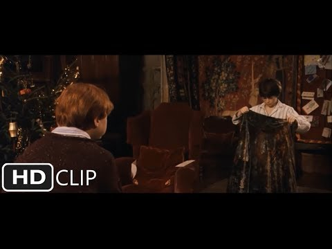 Harry Receives The Invisibility Cloak | Harry Potter and the Sorcerer's Stone