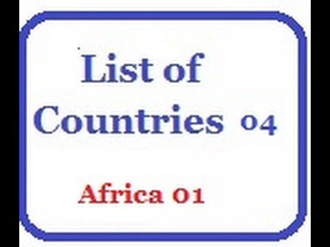 List of Countries 04