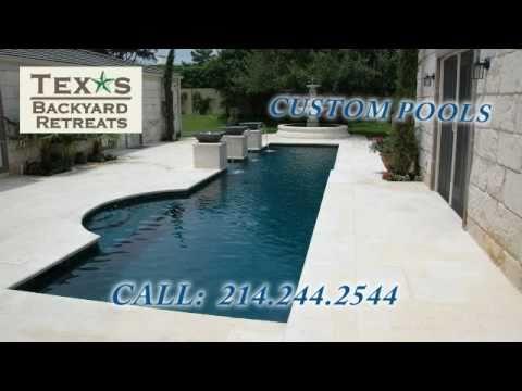 TexasBackyardRetreats - Dallas Swimming Pool Builder Video