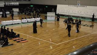 KYOTO vs YAMAGATA 67th All Japan Interprefecture KENDO Championship 2019 2nd Round