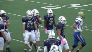 Colonials Football at St Johns week 8 10 29 16