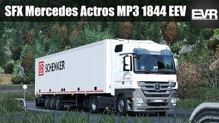 ETS2 1 32 SFX Mercedes Actros MP3 1844 EEV Engine Sound Automatic
