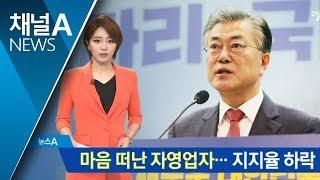 마음 떠난 자영업자…문 대통령 지지율 하락 thumbnail