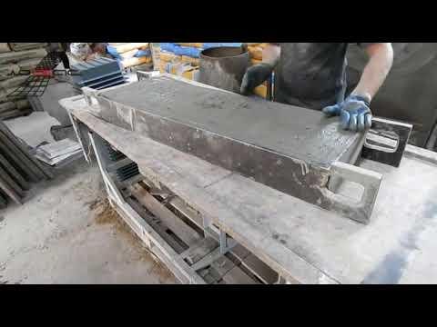 Технология изготовления железобетонных изделий со съёмной опалубкой
