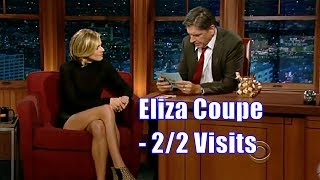 Eliza Coupe - She Brought Her Legs With Her - 2/2 Appearances In Chron. Order [720p]