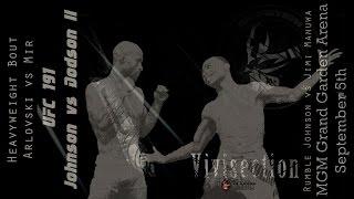 UFC 191: Johnson vs. Dodson previews, predictions, odds MMA Vivisection