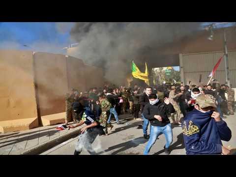 Иракцы начали штурм посольства США в Багдаде