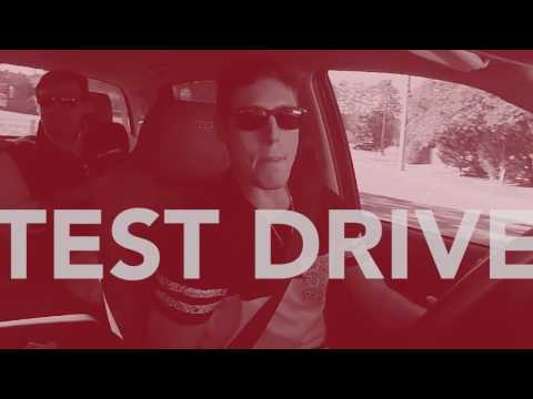 Bill Penney Toyota Test Drive with Adam Courchaine