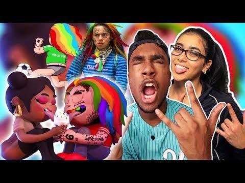 6ix9ine - FEFE ft Nicki Minaj | MUSIC VIDEO | Murda Beatz 🌈 REACTION VIDEO 6IX9INE GOT ROBBED 😱