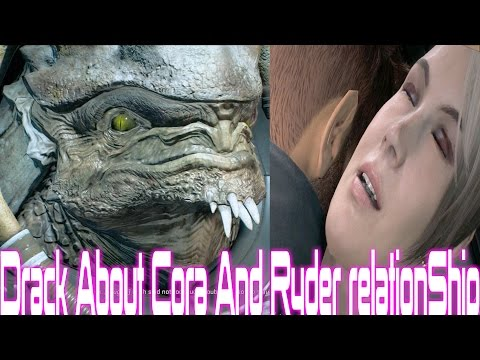 Mass Effect Andromeda Drack About Cora And Ryder Relationship