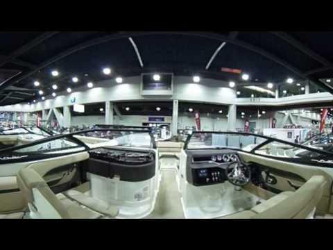 Cincinnati Travel Sports Boat Show - 360 Degree Virtual Reality Interactive Video