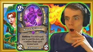 Sorcerer's Apprentice +  Elemental Evocation = Busted OP Mana Cyclone