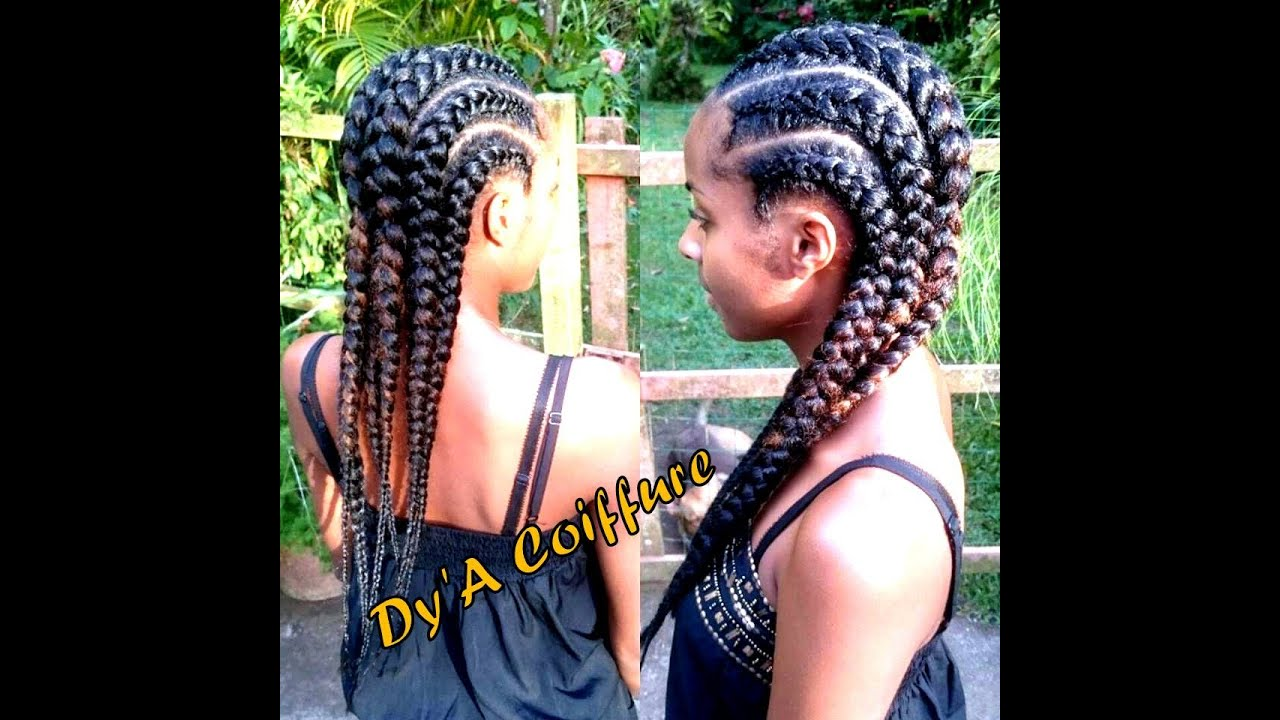 HOW TO Straight Back Feed In Cornrows