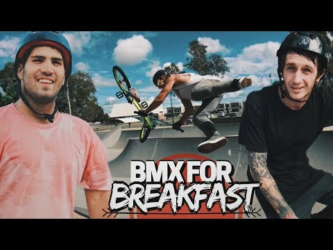 BMX BANGERS FOR BREAKFAST