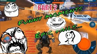 WAR ROBOTS FUNNY MOMENTS AND EPIC FAIL / 2017 / PART 2