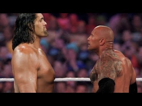 Dwayne The Rock Johnson vs The Great Khali   Fights and Training