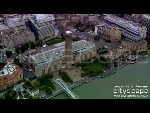 London Aerial Footage - Tate Modern (HD)