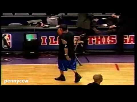 Allen Iverson 32pts vs Toronto Raptors 04/05 NBA *Donyelll Marshall NBA Record 12 3-pointer