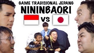 KOCAK!! MAIN GAME TRADISIONAL JEPANG!! インドネシア人と二人羽織!!