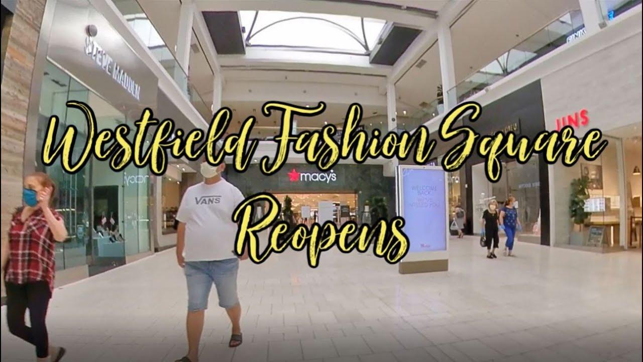 fashion square mall vans