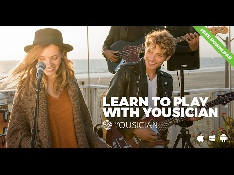 Yousician Guitar - the fast and fun way to learn, play and master the guitar.