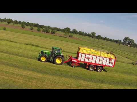 MTS de Haan aant inkuilen | Johndeere6830 | pottinger5700