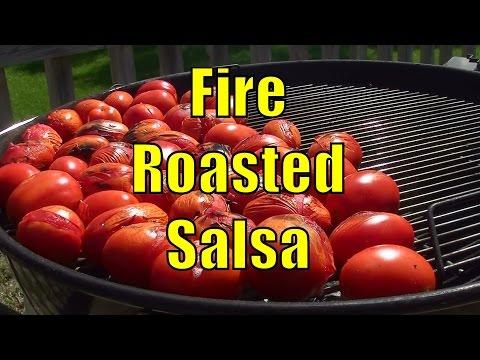 Homemade Fire Roasted Salsa Recipe - Home Canning -  BBQFOOD4U
