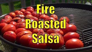 homemade fire roasted salsa recipe home canning bbqfood4u