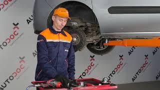Como substituir Jogo de maxilas de travão de estacionamento FIAT DOBLO Box Body / Estate (263) - vídeo guia