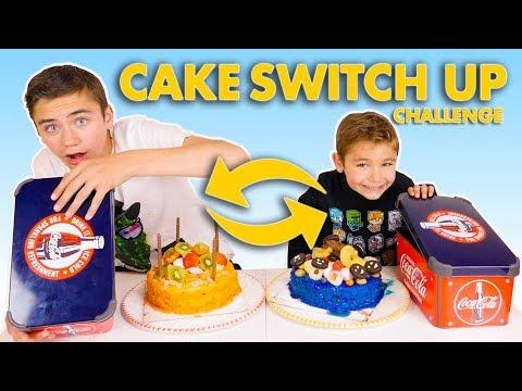 CAKE SWITCH UP CHALLENGE !!! - Swan VS Néo
