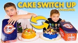 CAKE SWITCH UP CHALLENGE !!! - Swan VS Néo