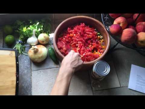 Fresh Rainbow Salsa
