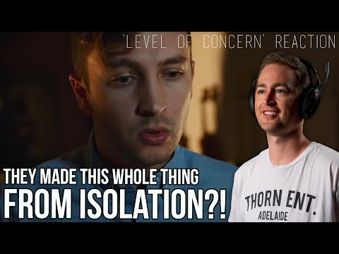 twenty one pilots - Level of Concern REACTION // made in isolation // Aussie Rock Bass Player Reacts