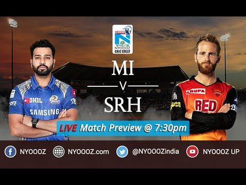 IPL 2018 Match Preview Mumbai vs Sunrisers Hyderabad | Live IPL MI vs SRH Discussion